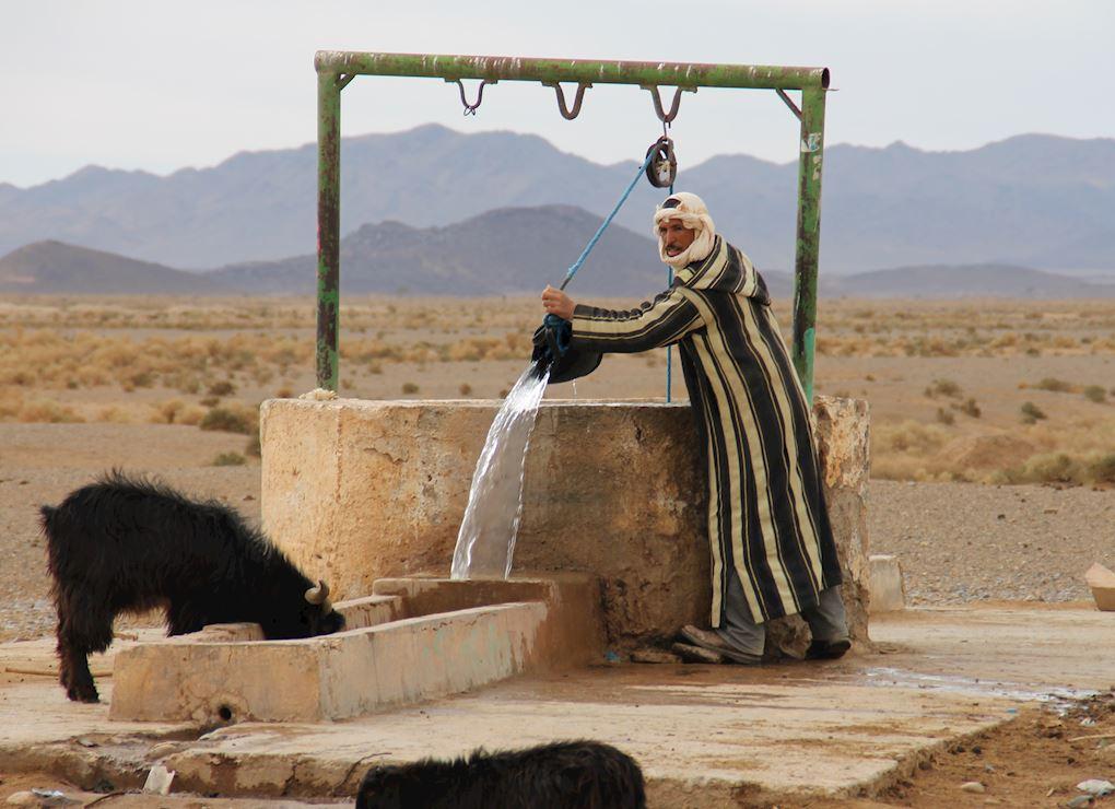Creuser un puits au Maroc