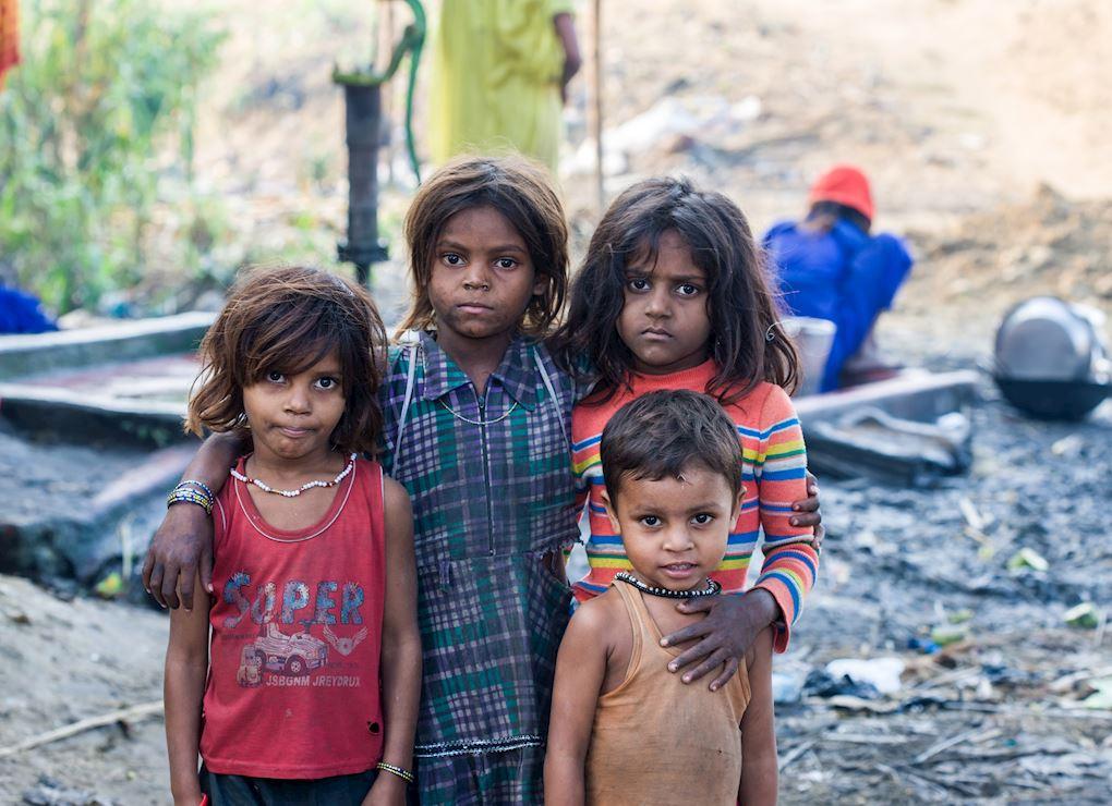 Enfants des rues au Bangladesh