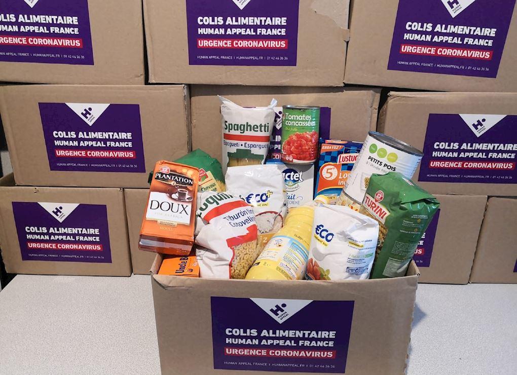 France : Banques alimentaires contre le Coronavirus