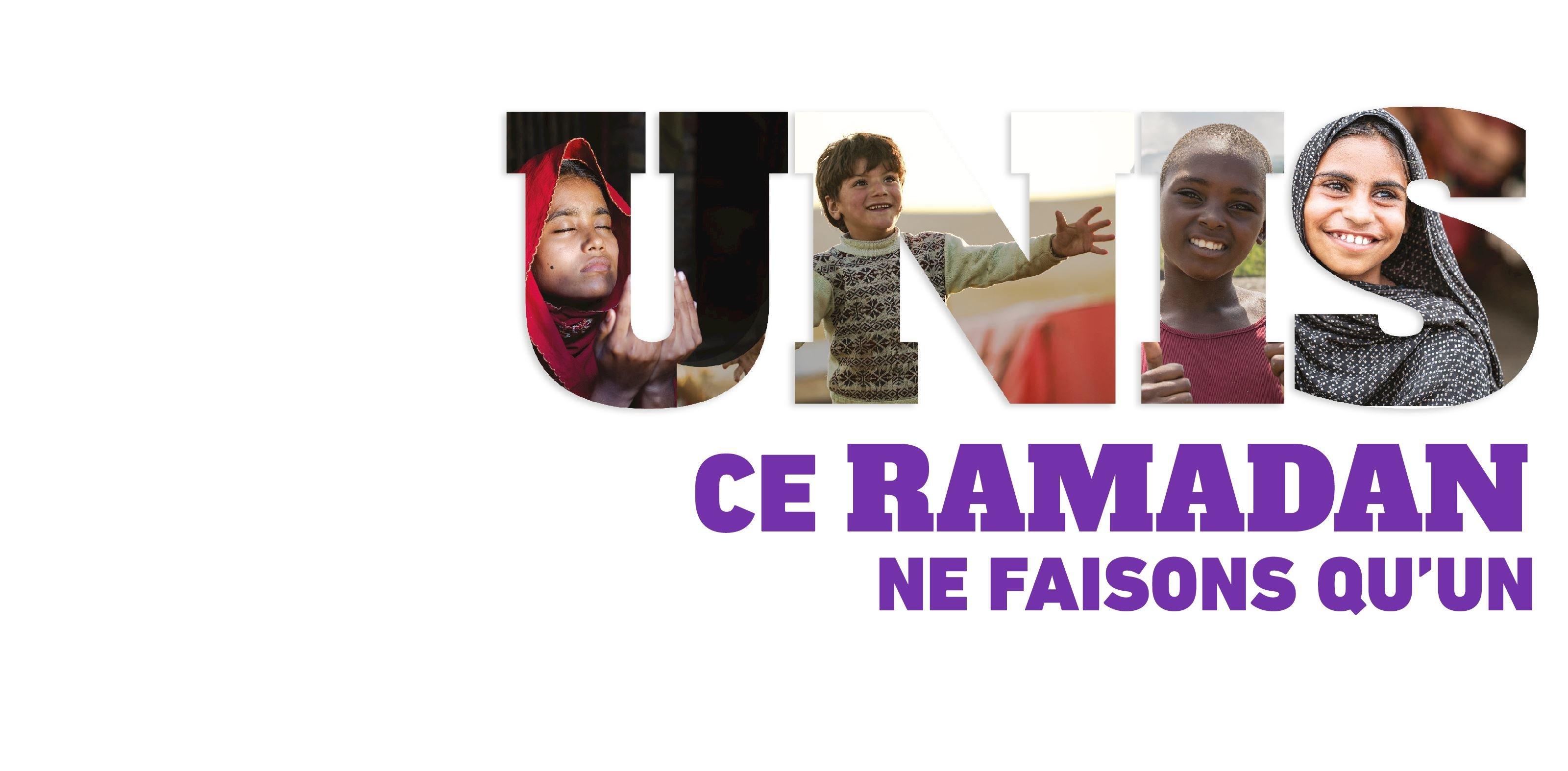 Ce Ramadan, soutenez les plus démunis
