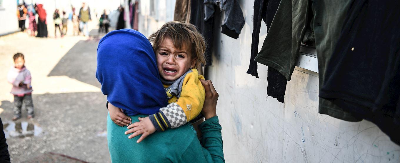 Aider les Veuves et orphelins en Syrie