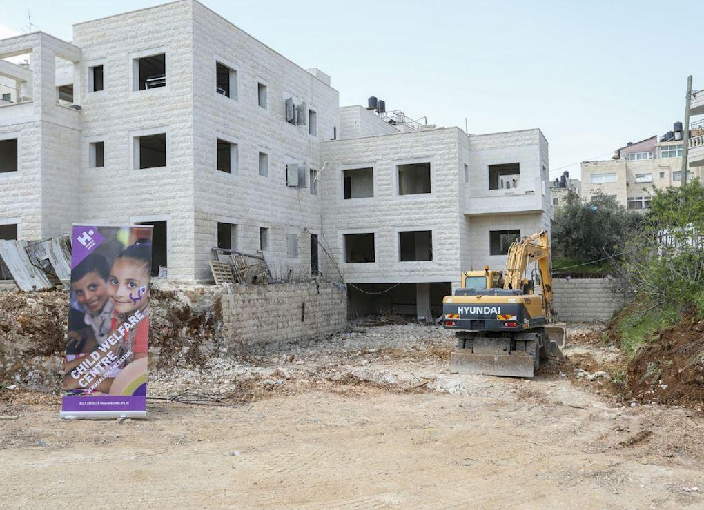 École pour les orphelins à Jérusalem