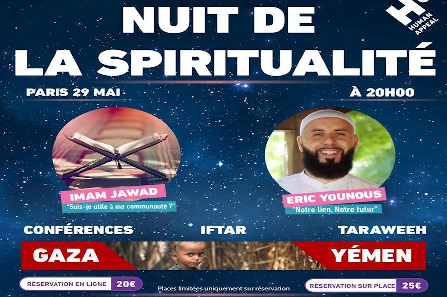 Nuit de la spiritualité - Paris