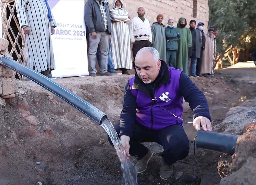 Forages de puits au Maroc