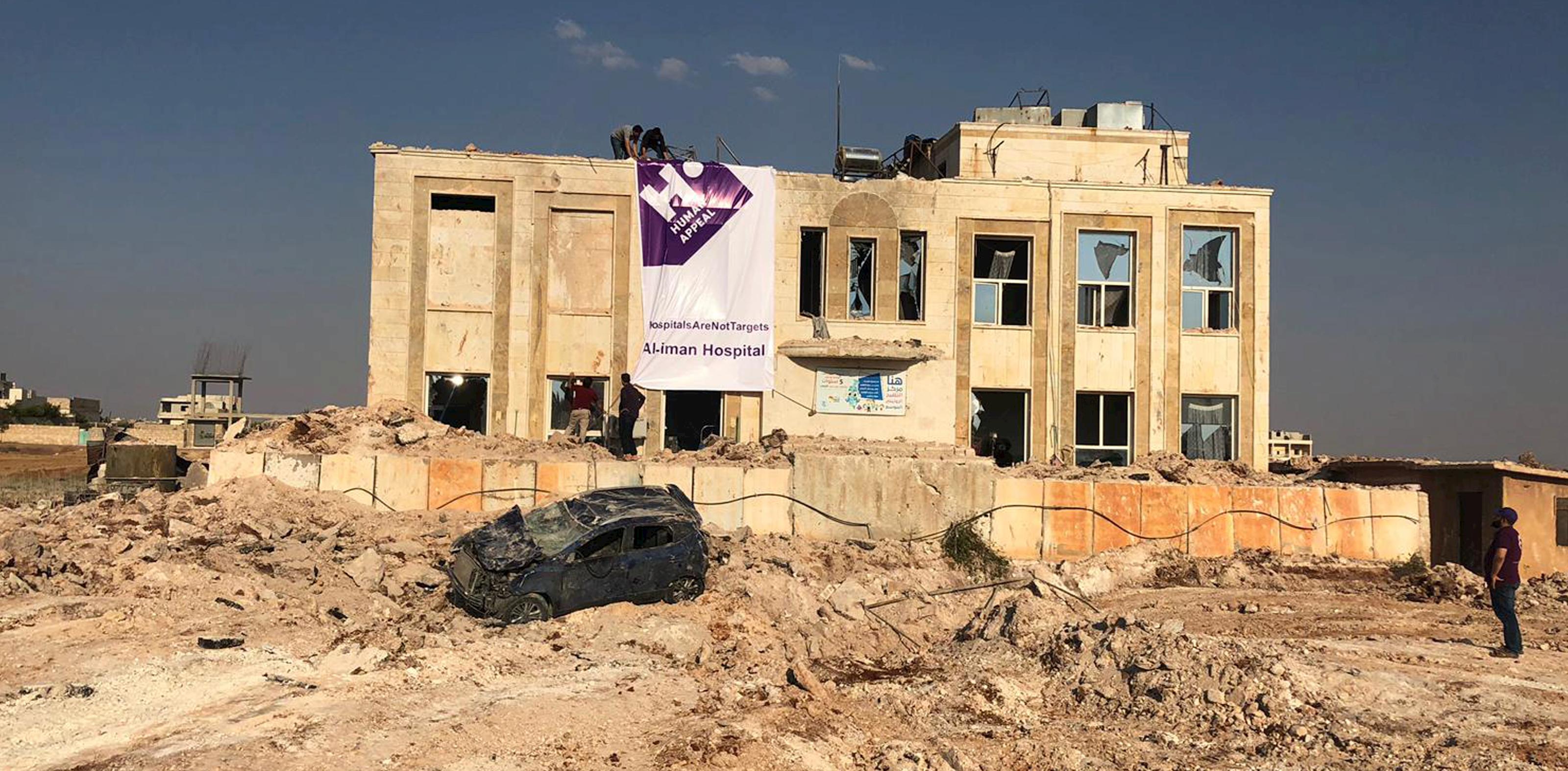 Notre hôpital à Alep a été bombardé dans la nuit du 30 au 31 août dernier !