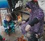 Saïda, salutte en tant queveuve palestinienne