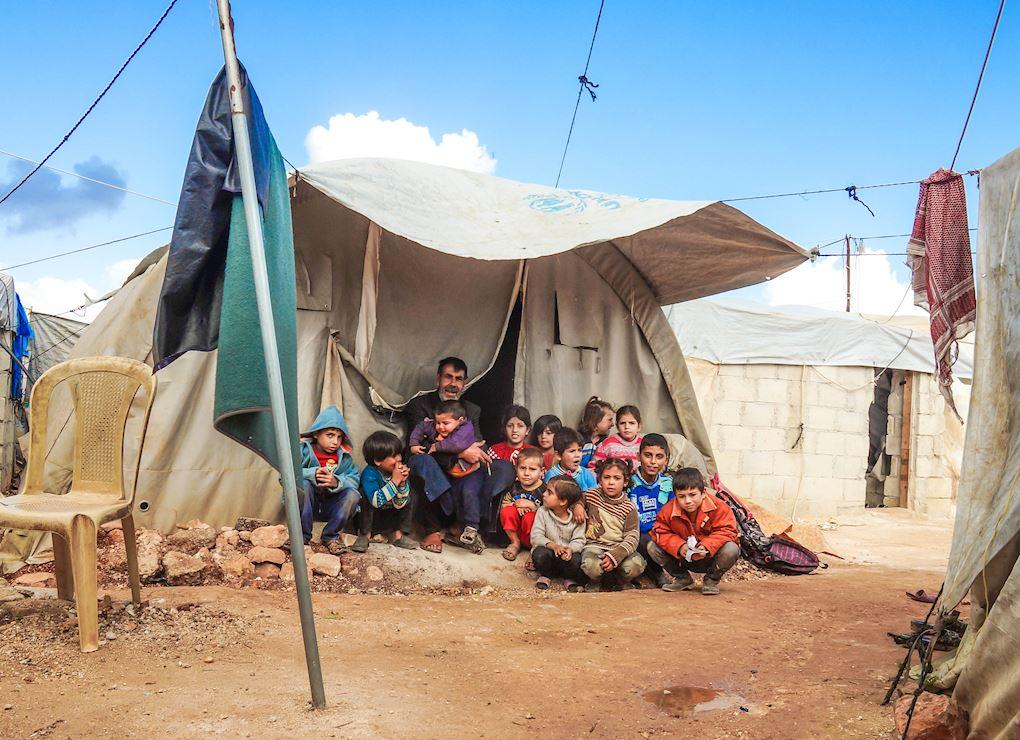 Construire des foyers pour les réfugiés syriens